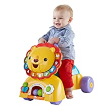 Fisher-Price 3-in-1 Sit, Stride and Ride Lion - French Edition