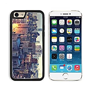 New York Dusk Lights Buildings Night Apple iPhone 6 TPU Snap Cover Premium Aluminium Design Back Plate Case Customized Made to Order Support Ready Liil iPhone_6 Professional Case Touch Accessories Graphic Covers Designed Model Sleeve HD Template Wallpaper