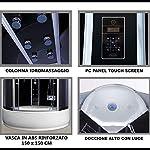 Bagno-Italia-Box-doccia-con-vasca-cabina-a-6-getti-idromassaggio-150×150-H220-cm-bluetooth-ozonoterapia-cromoterapia