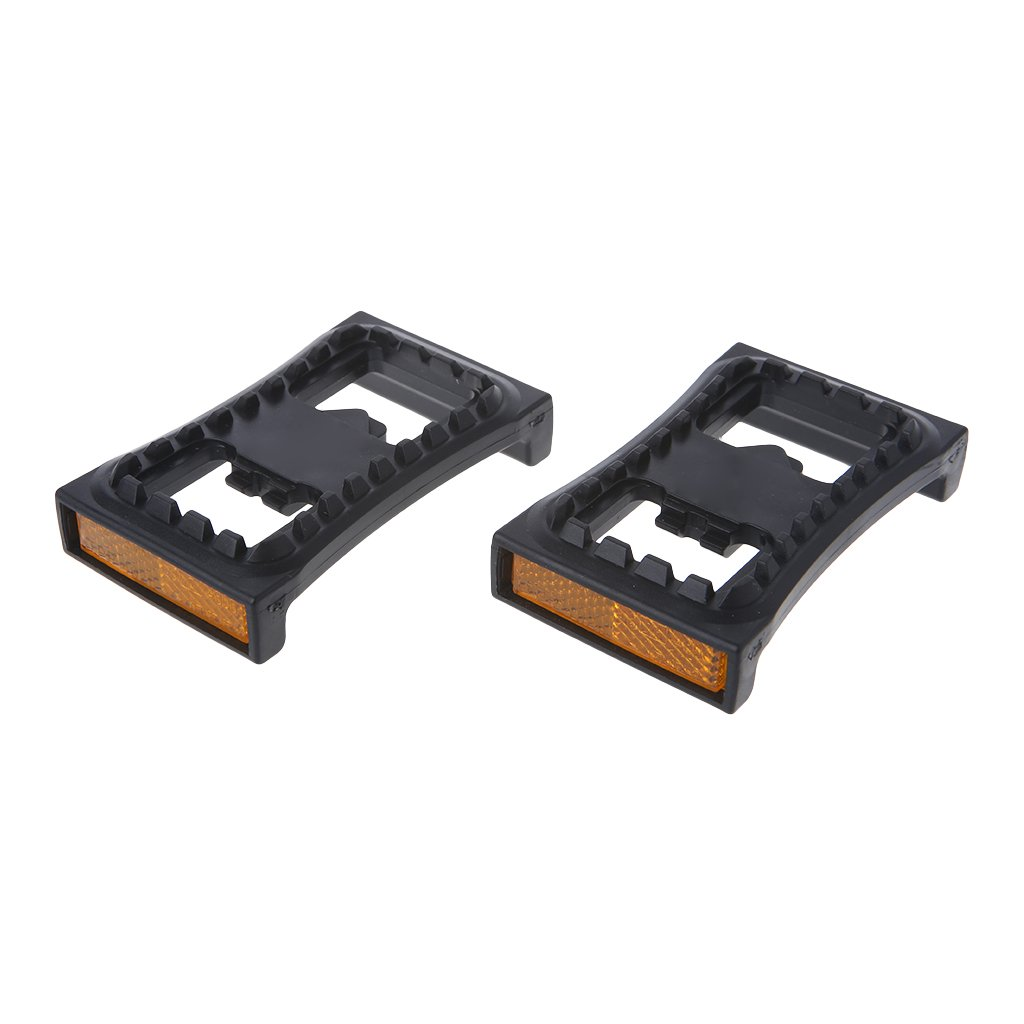 ULKEME Bicycle Flat Cleat Pedal For M520 M540 M780 Clipless MTB Mountain Bike Automatic