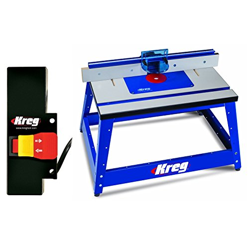 Kreg PRS2100 Bench Top Router Table w/ PRS3100 Router Tab...
