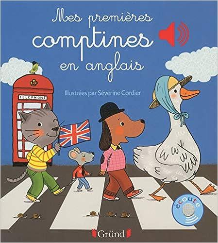 Book's Cover of Mes premières comptines en anglais (Français) Relié – 19 août 2015