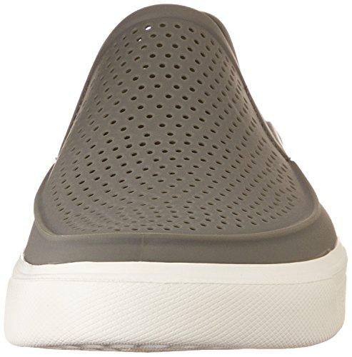 Crocs Citilane Roka, Zapatillas para Hombre Gris (Smoke/white)