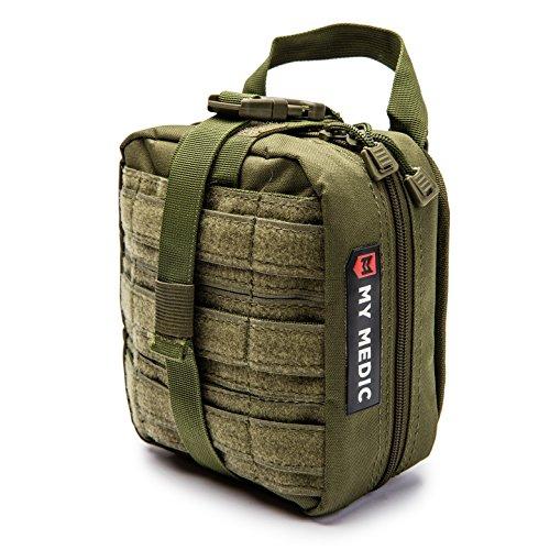 - My Medic MyFak Backpack First Aid Kit (Green, Basic)