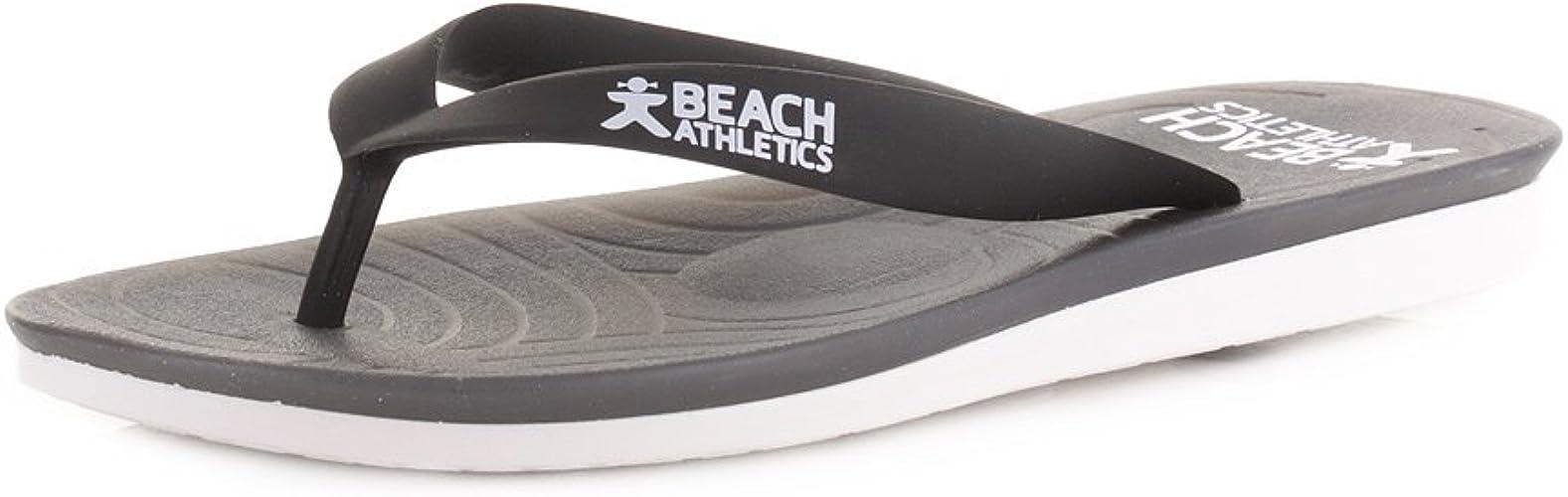 St Tropez Black Flip Flops SIZE