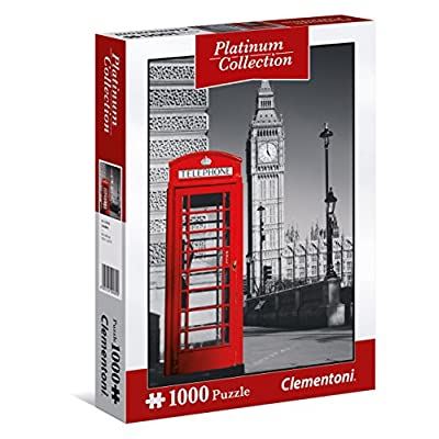 Clementoni 39397 Puzzle 1000 1 Platinum Collection London