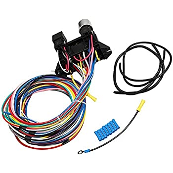 hot rod circuit universal wiring harness 8 amazon com bettercloud 12 standard    circuit       wiring       harness     amazon com bettercloud 12 standard    circuit       wiring       harness