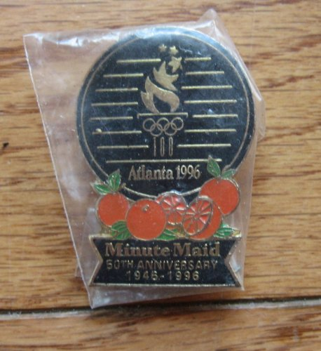 minute-maid-the-olympics-lapel-pin-50th-anniversary-from-1996
