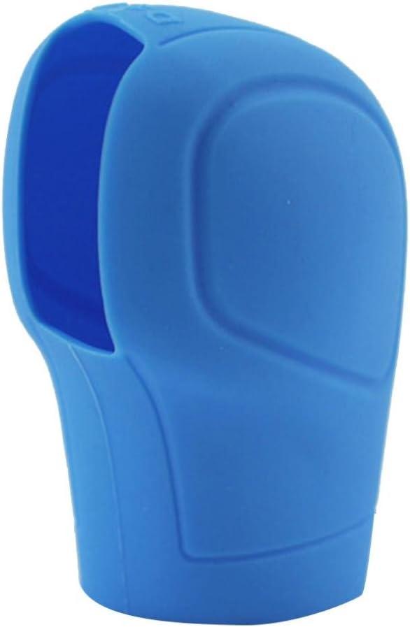 8cm x 6cm /1/St/ück Auto Auto Silikon Gear Head Shift Knob Cover Feststellbremse Griffigkeit Interieur Sanwood/ blau Silikon