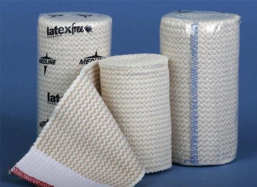 Matrix Velcro Elastic - MDS087004LFZ - Non-Sterile Matrix Elastic Bandages,White/Beige, Box of 10