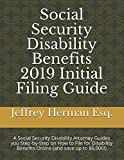Social Security Disability Benefits 2019 Initial