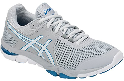 ASICS Women's Gel-Craze TR 4 Cross-Trainer Shoe (7 B(M) US, Mid Grey/White)