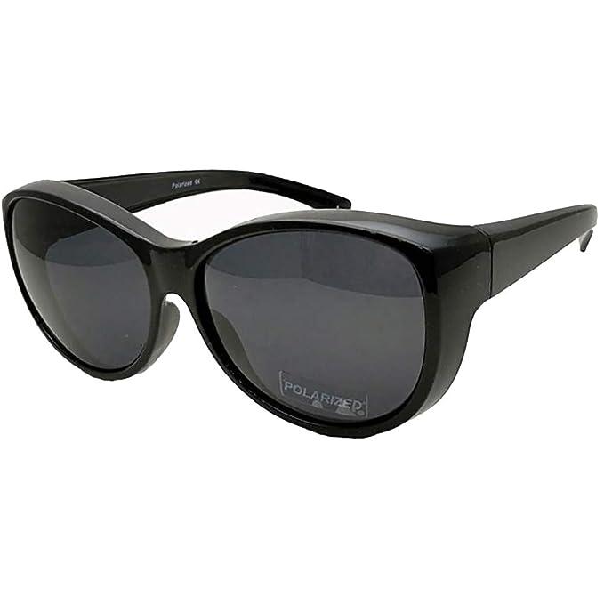 c99a6bd6be Polarizado Conducción de gafas de sol Wrap Around Glasses Gafas Ajustar  más: Amazon.es: Ropa y accesorios