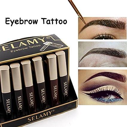 Buy Fission 2 Selamy Brand Waterproof Henna Eyebrows Makeup Black