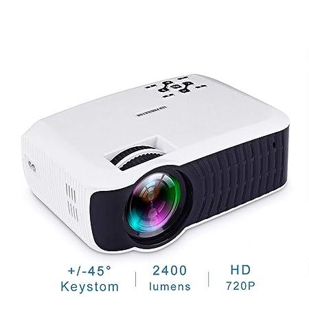 ZCCZ-AA T4mini Inicio proyector 1080p HD Mini portátil LED ...