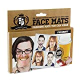 Paladone Gentlemans Club Face Drink Coasters - 20