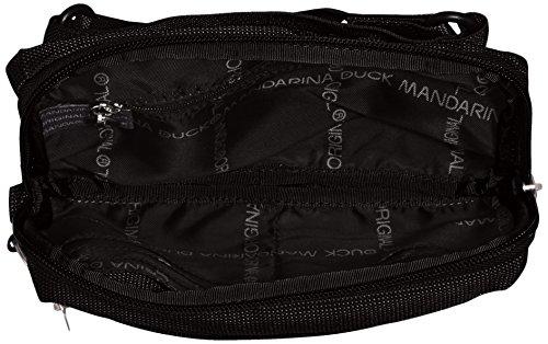 Mujer Black negro Md20 Para Duck Bolso Mandarina Bandolera qXTRx1