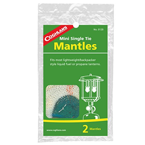 Lantern 1 Mantle (Coghlan's Mini Single Tie Mantles, 2-Pack)