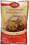 corn bread mixes - Betty Crocker, Muffin Mix, Authenic Cornbread & Muffin Mix, 6.5-Ounce Pouches (Pack of 6)