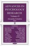 Advances in Psychology Research, , 1600211054