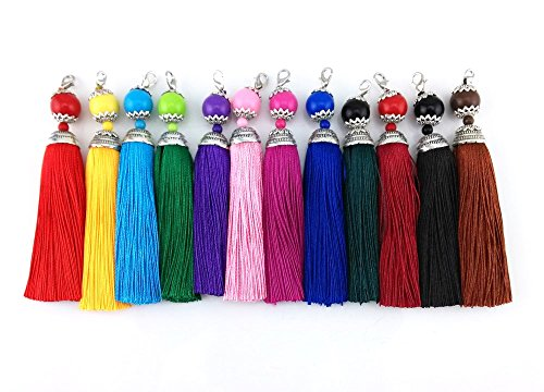 yueton Colorful Lobster Tassels Accessory