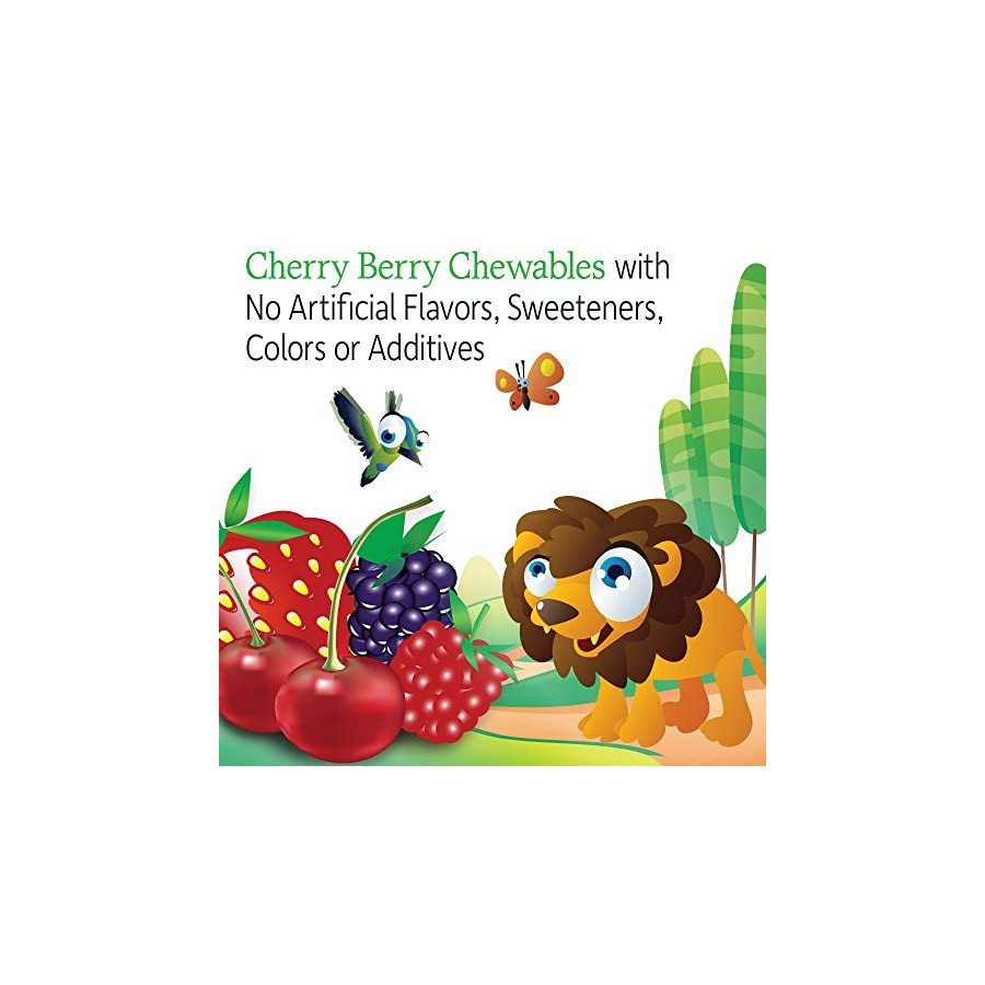 Garden of Life Vegetarian Multivitamin Supplement for Kids Vitamin Code Kids Chewable Raw Whole Food Vitamin with Probiotics