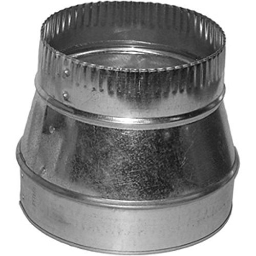 6 to 4 Duct Reducer-Ductwork-Heating Duct-Air Duct-Ventilation Fittings - Duct Adapter