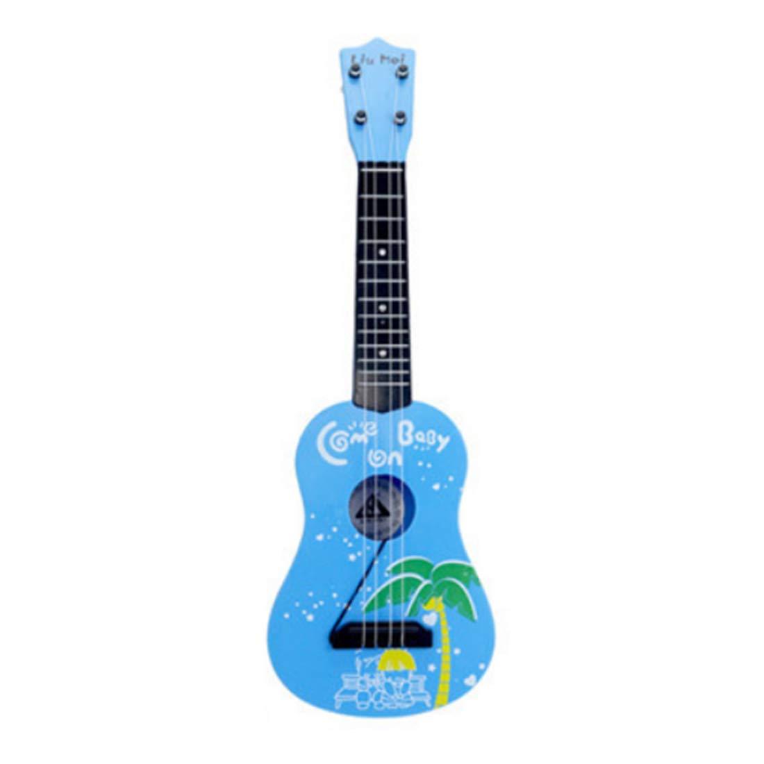 iVansa Kinder Gitarre, 4 Saiten Ukulele Gitarre Kindergitarre Musikinstrument Musik Spielzeug Pä dagogisches Spielzeug Geschenk fü r Kinder Junge Mä dchen ab 3 Jahre