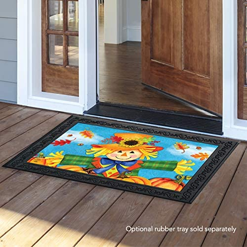 Briarwood Lane Harvest Celebration Scarecrow Fall Doormat Pumpkins Indoor Outdoor 18 x 30