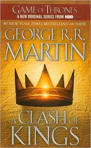 Znalezione obrazy dla zapytania george rr martin a clash of kings