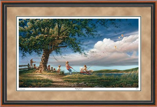Spring Fever Framed Limited Edition Print by Terry Redlin