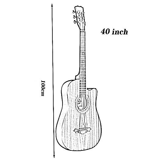 BAIYING-Guitarra Acústica Balada Práctica De La Canción ...