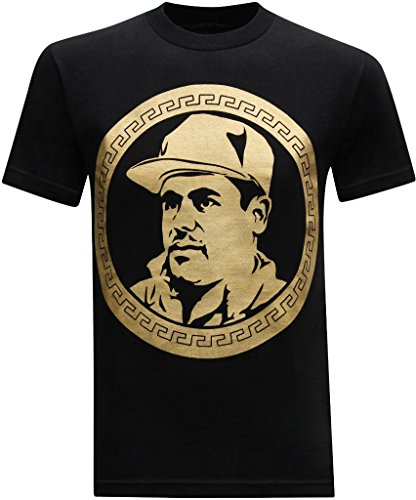 El chapo guzman currency men 39 s t shirt large black for Chapo guzman shirt brand