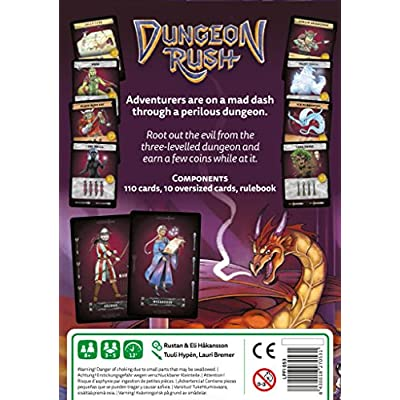 Stronghold Games Dungeon Rush Board Games: Toys & Games