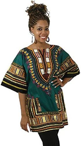 c6deef29eb6 DEESEE® Traditional Thailand Style African Print Dashiki T-Shirt Blouse Tops