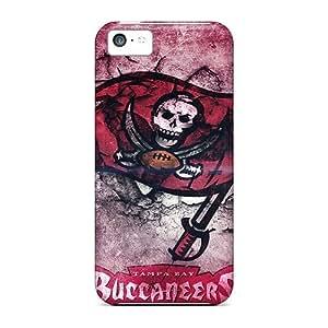 Iphone 5c Tampa Bay Buccaneers Print High Quality Tpu Gel Frame Case Cover