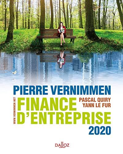 Finance d'entreprise 2020 - 18e éd. (Dalloz Gestion) por Pierre Vernimmen,Pascal Quiry,Le Fur, Yann