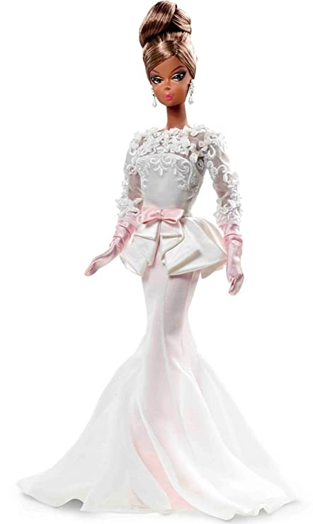 Amazon.com: Barbie Collector Fashion Model Collection Evening Gown ...