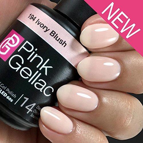 Pink Gellac 194 Ivory Blush Soak-Off UV/LED Gel Polish