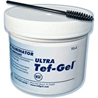 Original ULTRA Tef-Gel- 4 OZ Tub - Stops Salt Water corrosion on all metals, works in fresh water too. Waterproof: Replaces petroleum greases that wash away. Replaces Silicone to lubricate