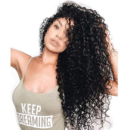 Lace Frontal Wig Pre Plucked With Baby Hair 180% Deep Wave Lace Front Human Hair Wigs -