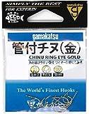がまかつ(Gamakatsu) カン付チヌ フック 金 3号 釣り針