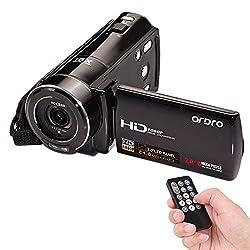 ORDRO HDV-V7 1080P Full HD Digital Video Camera Camcorder Max. 24 Mega Pixels 16× Digital Zoom with 3.0