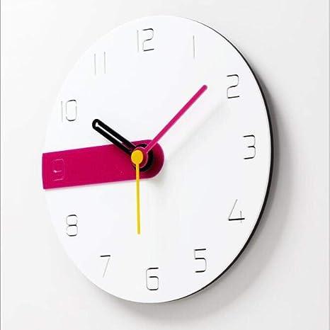 Amazon.com: Zdtxkj Creative Acrylic 3D Wall Clock Decorative ...