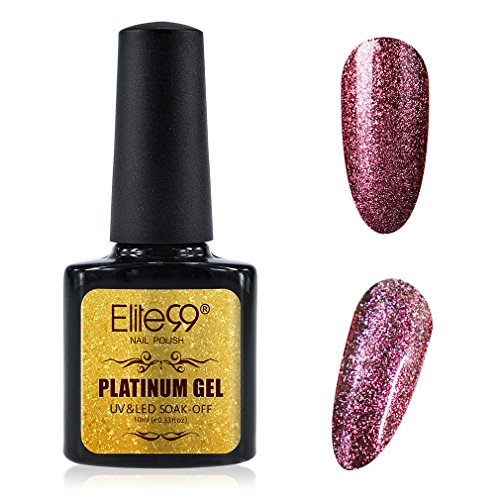 Elite99 Platinum Gel Nail Polish Lacquer UV LED Soak Off Glo
