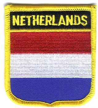 Flagline Netherlands - Country Shield Patch