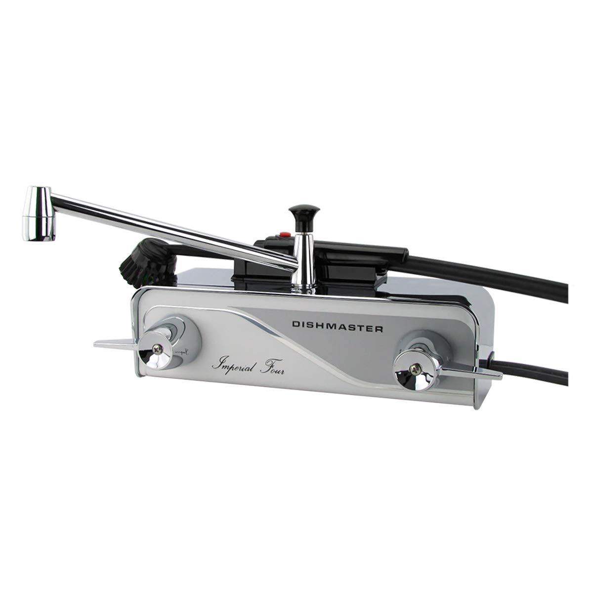 Dishmaster M76 Imperial Four Kitchen Faucet - Chrome