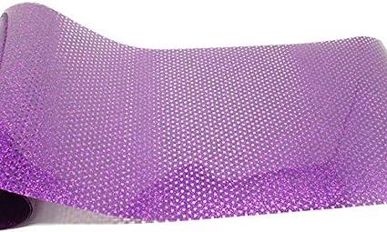 Vinilo textil glitter microperforado VINTEX (Morado): Amazon.es ...