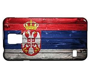 Funda Carcasa para Galaxy S5 Mini Bandera SERBIA 02