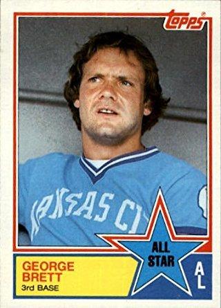 1983 Topps Baseball Card #388 George Brett ()